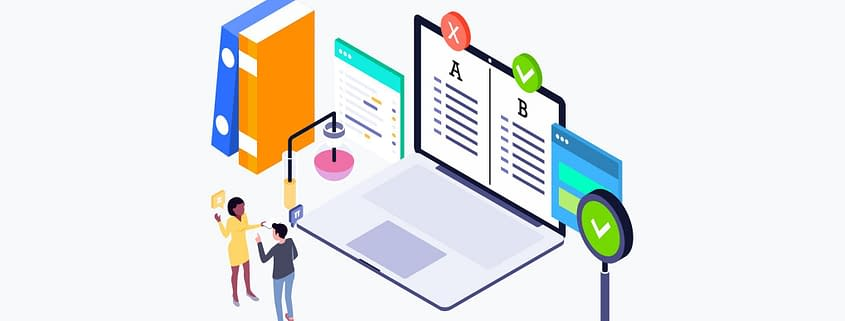 A/B Test Hintergrundbild